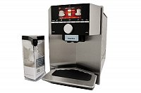 Siemens TI915531DE coffee maker Freestanding Espresso machine Black,Stainless steel 2.3 L 2 cups Fully-auto